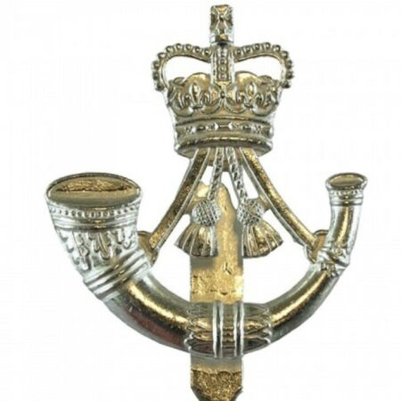 img-BRITISH ARMY ISSUED RIFLES CAP | BERET BADGE (v-hook) BRAND NEW INSIGNIA