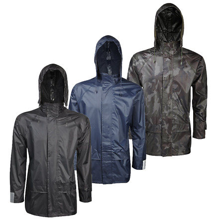 img-Adults Mens Womens Waterproof Jacket Rain Coat Fishing Biking Walking Unisex