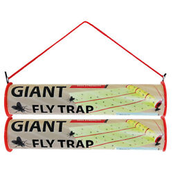 W4W Giant Sticky Fly Trap Roll - MAX Strength - Outdoor/Indoor - Non Toxic