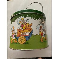 Kyпить Vtg Keebler Tin Metal Pail Canister With Lid And Handle на еВаy.соm