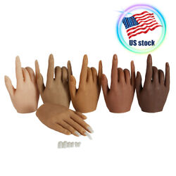 Kyпить Silicone Practice Hands for Nails Mannequin Female Model Display Hands False на еВаy.соm