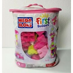 Kyпить Fisher Price Mega Bloks First Builders, 54 Pieces, 1-5 Years Old Incomplete  на еВаy.соm