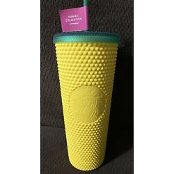 ???? NEW Starbucks Hawaii Exclusive 2020 Pineapple Matte Studded Tumbler Cup 24oz