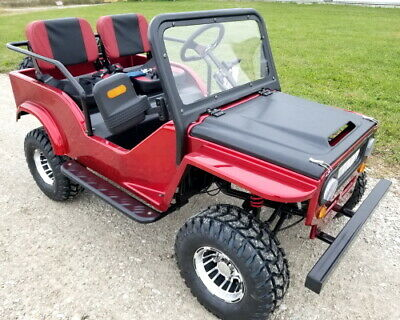 Mini Safari Jeep Mini Gas Golf Cart With 125cc Motor
