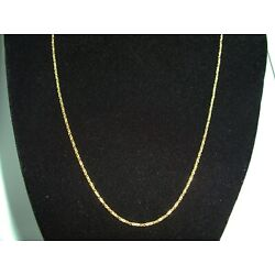 "Kyпить 14K YELLOW GOLD SMALL ROLO 20"" NECKLACE 3.8 GRAMS на еВаy.соm"