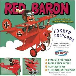 Kyпить Atlantis Peanuts the Red Baron Fokker Triplane AMC-M5903 на еВаy.соm