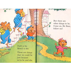 Kyпить Berenstain Bears He Bear She Bear High Quality Metal Magnet 3 x 4 inches 8715 на еВаy.соm