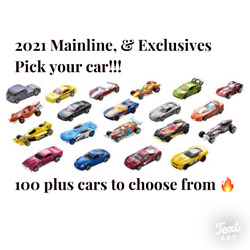 Kyпить 2021 Hot Wheels Main Line Series You Pick - 250+ Brand New Hot Wheels???????????? на еВаy.соm