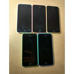 Kyпить iPhone 5C Bulk Lot of 5 Phones FOR PARTS на еВаy.соm