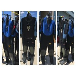 Kyпить Dive Shop Liquidation! -  Lot of 4 Used Drysuits- Scuba-Watersports-Recovery на еВаy.соm