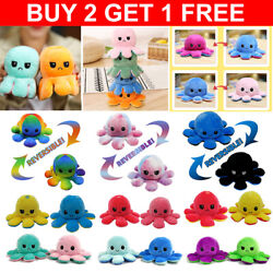 Kyпить Reversible Octopus Flip Sided Plush Soft Plush Simulation Doll Toy Emotional на еВаy.соm