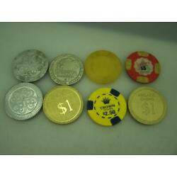 8 gaming chips Adelaide Wrest Point Sahara Crown and Jupiters Casinos       3185