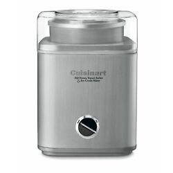Kyпить 2-Qt Automatic Frozen Yogurt Sorbet Ice Cream Maker Cuisinart ICE-30BC Pure Indg на еВаy.соm