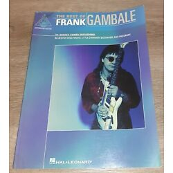 Kyпить FRANK GAMBALE - THE BEST OF - GUITAR TAB BOOK - TABLATURE - MUSIC SONGBOOK на еВаy.соm