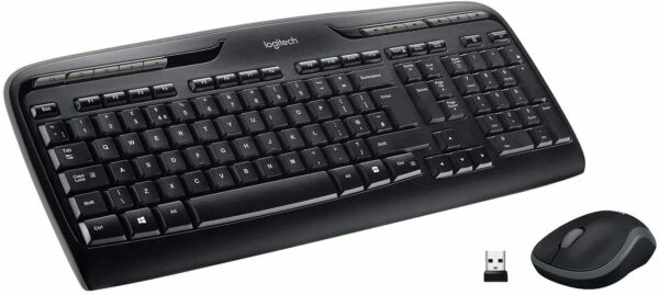 London,United KingdomLogitech MK330 Wireless Keyboard and Mouse Combo for Windows, 2.4 GHz! NEW! UK!