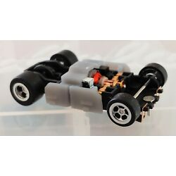 Kyпить Jag Hobbies NC-2 Slot Car Chassis W Tyco Wide Body Clip - Silicone Tires (New) на еВаy.соm