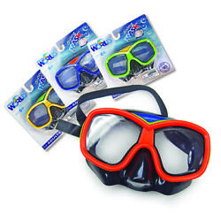 Underwater Diving Goggles Swimming Scuba Half Face Glasses Anti Fog For Adults