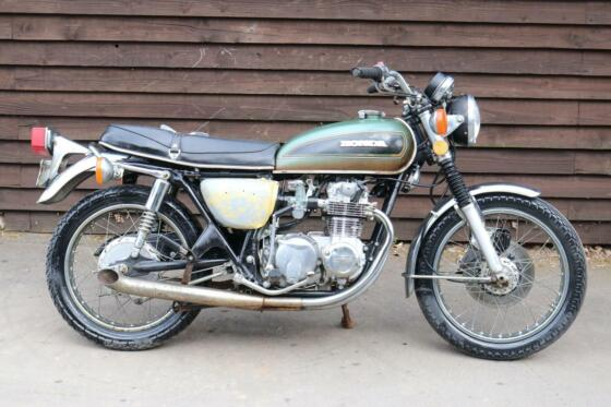 Honda CB550 CB 550 K 1975 US BARN FIND Ride or Restore