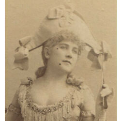 Kyпить THEATRICAL,  ACTRESS IN COSTUME. CABINET CARD BY FALK. N.Y. на еВаy.соm