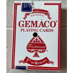 Kyпить 1 Deck Of GEMACO Playing Cards from Trump Marina, Complete Red на еВаy.соm