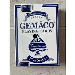 Kyпить 1 Deck Of GEMACO Playing Cards from Trump Marina, Complete Blue на еВаy.соm