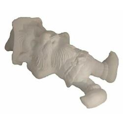Snoozer Gnome 15'' Ceramic Bisque, Ready to Paint