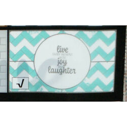 Cooking Concepts Backsplash Wall Sticker Live Every moment with Joy & Laughter