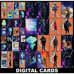 Kyпить Topps Disney Collect SOUL SPARK COLLECTION [49 CARD FULL (5) SETS] на еВаy.соm