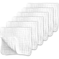Kyпить Muslin Burp Cloths for Baby 100% Cotton Large Layers Thicken Super Soft 6 Pack на еВаy.соm