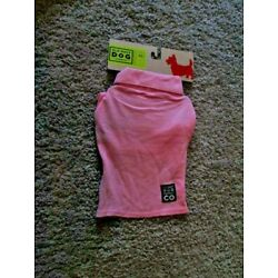 OLD NAVY DOG SUPPLY Unisex 100% Cotton Pink One Button Jersey  XXS(9''-10'') NEW