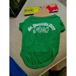 OLD NAVY DOG SUPPLY Unisex 100% Green St Patrick's Day 2009 Tee  XS(11''-13'') NEW
