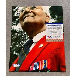 Kyпить CHARLES McGEE SIGNED 8x10 MEDAL PORTRAIT PHOTO TUSKEGEE AIRMEN WWII GEORGE BUSH на еВаy.соm