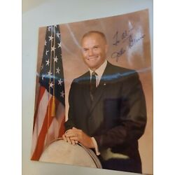 Kyпить John Glenn  Coa Hand Signed 8x10 Photo Autographed на еВаy.соm