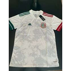 Kyпить 2020-21 Official Mexico Away Jersey - White and Pink на еВаy.соm