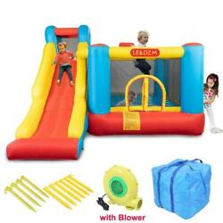 Kyпить Inflatable Water Slide Bounce House Castle Water Pool Long Slide With 480 Blower на еВаy.соm