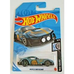 Hot Wheels Muscle And Blown Blue #184 184/250 2021 Rod Squad 5/5