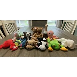 Kyпить Lot Of 14 Made In Indonesia Ty Beanie Babies MWMT на еВаy.соm