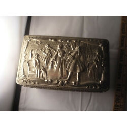 Kyпить Vintage Metal Footed Jewelry Box Made in Japan на еВаy.соm