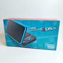 Kyпить Nintendo 2DS XL Console Black Turquoise Pre-loaded FREE Same Day Shipping на еВаy.соm