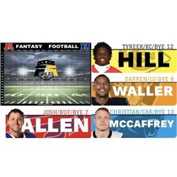 2021 FANTASY FOOTBALL DRAFT BOARD KIT - BEST LABELS AVAILABLE