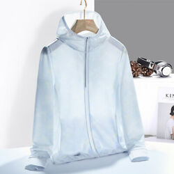 Outdoor Ultra-thin Sport Jersey Women's UV Breathable Quick Dry Stretch Jacket