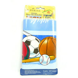 Imperial SELF STICK WALL BORDER Just for Kids SPORTS WORLD Removable 7'' x 15'