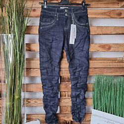 **JEWELLY BAGGY JEANS D-BLUE GR.XS-XL TOP COOLE OPTIK STYLED  JW  TOP AKTUELL**