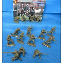 Mars#32033 WWII U.S. Paratroops, 15 fig's in 8 poses about 2 1/4