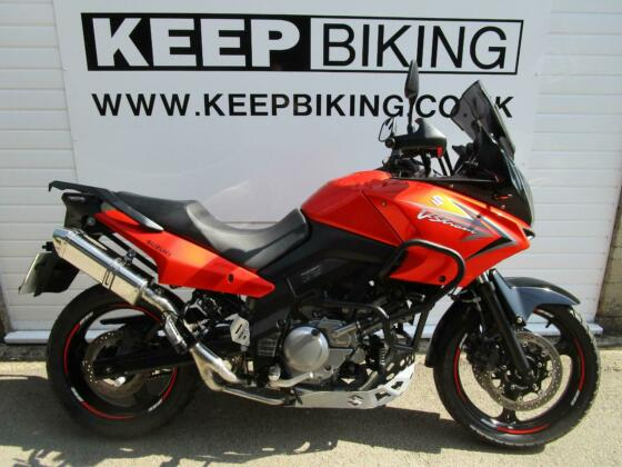 2009 SUZUKI DL650 K9X V-STROM 12479 MILES. SERVICE HISTORY. DELKEVIC END CAN.
