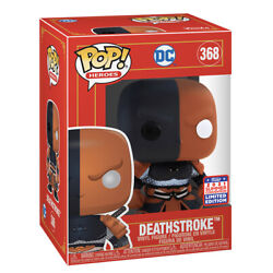 ON HAND! FUNKO POP IMPERIAL DEATHSTROKE FUNKON SDCC 2021 SUMMER CONVENTION