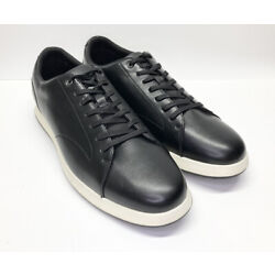 Alfani Benny Mens Shoes Black Casual Walking Sneakers Lace Up 13.5