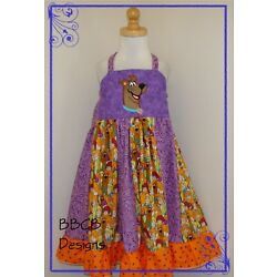 New Girls Mystery Dog Theme Dress - Birthday Party Outfit Pageant OOC Size 5 5T