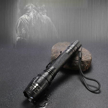 img-Super Bright 90000LM T6 Tactical Military LED Flashlight Torch Zoomable 1865 Ta