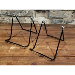 Gibson Holders Black Adjustable Wire Display Easels Set of 2